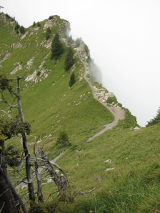 Knife Edge Trail, Schynige Platte
