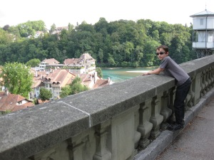 Above River Aare, Bern
