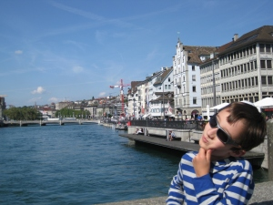 I guess Zurich is OK
