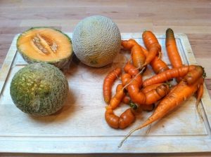 Cantaloupes & Carrots